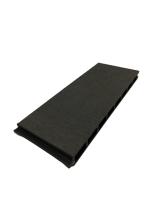 Muster WPC Zaun Royal Plus in Anthrazit/ Dunkel Grau