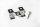 Edelstahl Befestigungsclips für 3D Terassen Diele