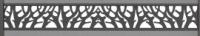 Royal Plus Dekoreinsatz Anthrazit 1830 x 250 x 3 mm